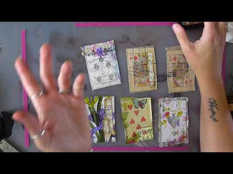 Altered Playing Card Tutorial - How I Do It