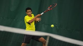 14-year-old Felix Auger Aliassime writes Tennis history - The youngest to qualify for a Challenger.
