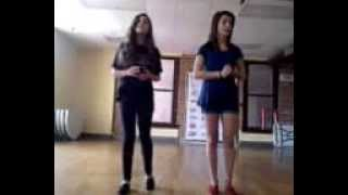 "Terra Maslak and Cailee Spaeny singing ""Forget about the Boy"" from thoroughly modern millie"