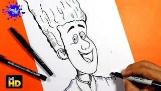HOTEL TRANSYLVANIA  2/ Como dibujar a johnny stein / How to draw Dracula