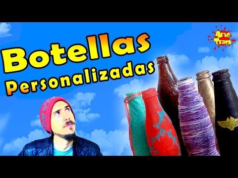 DIY Botellas Personalizadas | Arte Track