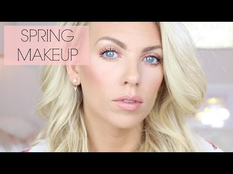 Spring Makeup Tutorial for Blue Eyes