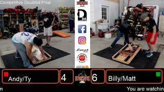 Empire Cornhole ACL Regional #2 Competitive Doubles Final