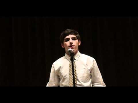 """A Boat Beneath A Sunny Sky"" recitation by Daniel Troxell, Classical Christian Academy student"