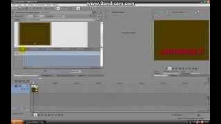 Как сделать простую прокрутку текста в Sony Vegas Pro 10