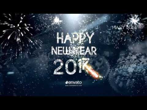 free after effects templates new year