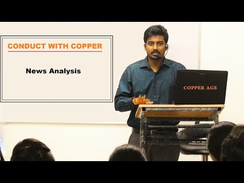 Conduct with Copper   News Analysis