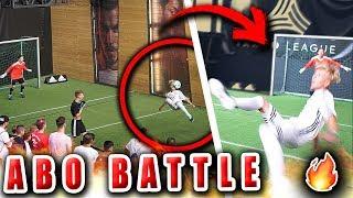 Fußball Battle vs ABONNENTEN (FALLRÜCKZIEHER TOR ?)
