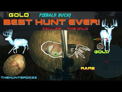 CALL OF THE WILD SpotLighting RARE GOLD Bucks!!  THEHUNTER 2017