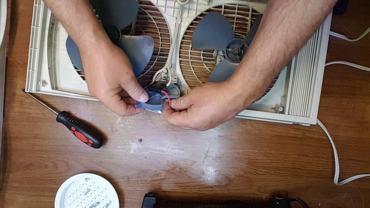 hight resolution of window fan stopped working how to fix it youtube window ac fan motor wiring diagram