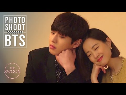 Cast of Abyss Photoshoot   Park Bo-young, Ahn Hyo-seop