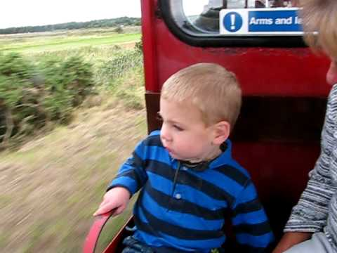 Wee Matt on the Train