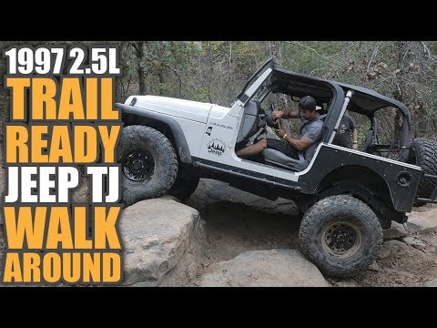 2.5l Jeep TJ Walk Around | Build a Reliable Trail Ready Wrangler on 35s