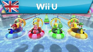 Mario Party 10 - Minigame - Rapid River Race (Wii U)