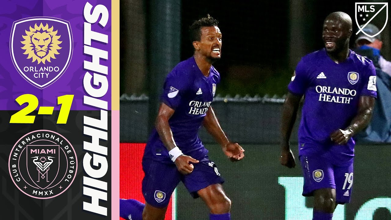 Orlando City SC 2-1 Inter Miami | Nani 97th Minute Winner in New Florida Rivalry! | MLS HIGHLIGHTS