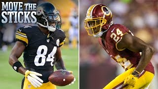 Top 3 Week 1 Head-to-Head Matchups | Move the Sticks | NFL