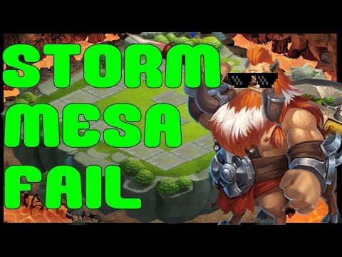#122 The Worst Storm Mesa 2 In The History Of Castle Clash