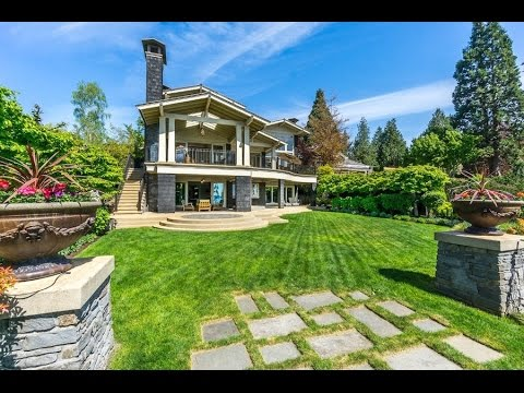 Magnificent $12 Million West Coast Style Estate in White Rock British Columbia Canada