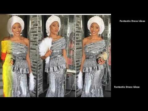 Trending Dress Styles for African Ladies - Ankara,ASO,EBI Latest Design Collection