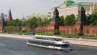 Прогулка по Москве-реке на теплоходе. Достопримечательности Москвы(, 2017-05-16T05:20:53.000Z)