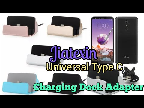 Quick Charge and Data Sync Dock for LG Stylo 4 with Type C-USB cable