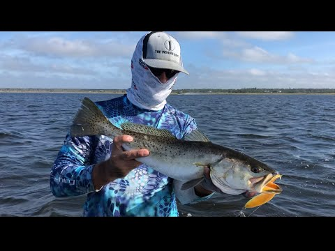 {Catching REDFISH & TROUT} Spring Warrior Fish Camp