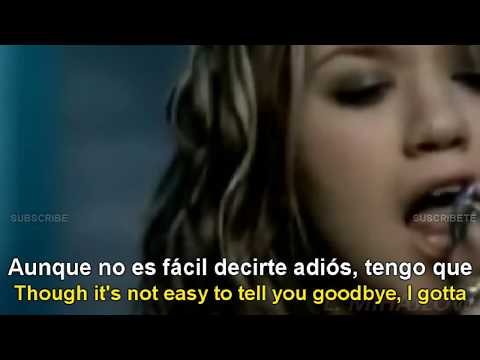 Kelly Clarkson - Breakaway [Lyrics English - Español Subtitulado]