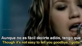 kelly clarkson breakaway lyrics english español subtitulado
