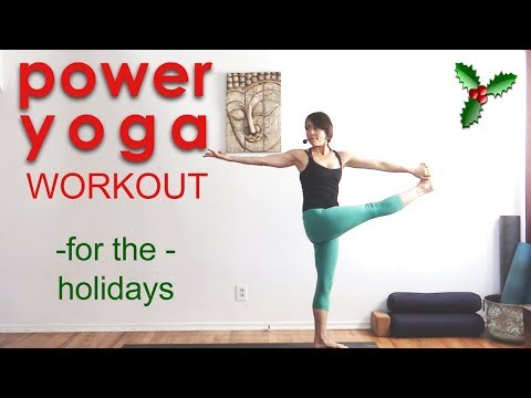 Power Yoga Workout for the Holidays