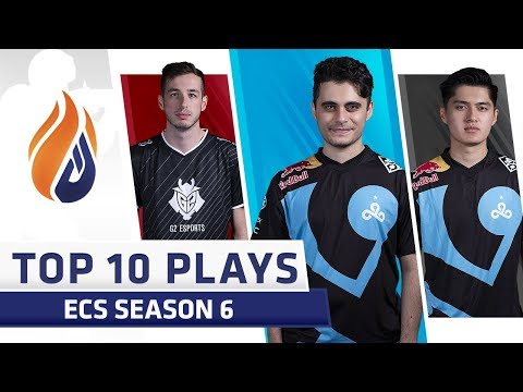 Top 10 ECS Plays of the Week - Volume 3 - Feat. Golden, autimatic, kennyS!