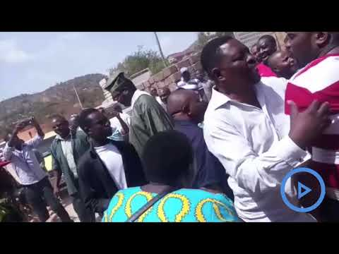 Miguna Miguna roughed up by Governor Samboja's supporters outside Voi High Court