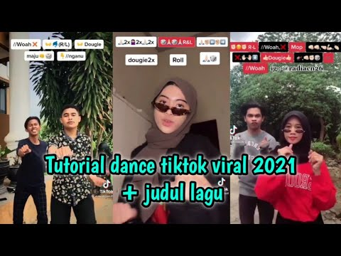 Tutorial dance tiktok terbaru 2021 + judul lagu part 29