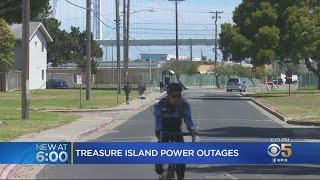 Power Outages Plague Treasure Island Residents