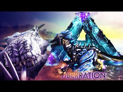 ARK Aberration - ROCK DRAKE & TEK SADDLE LEAKED GAMEPLAY! BASILISK ATTACKS + FINAL BOSS!? - Gameplay