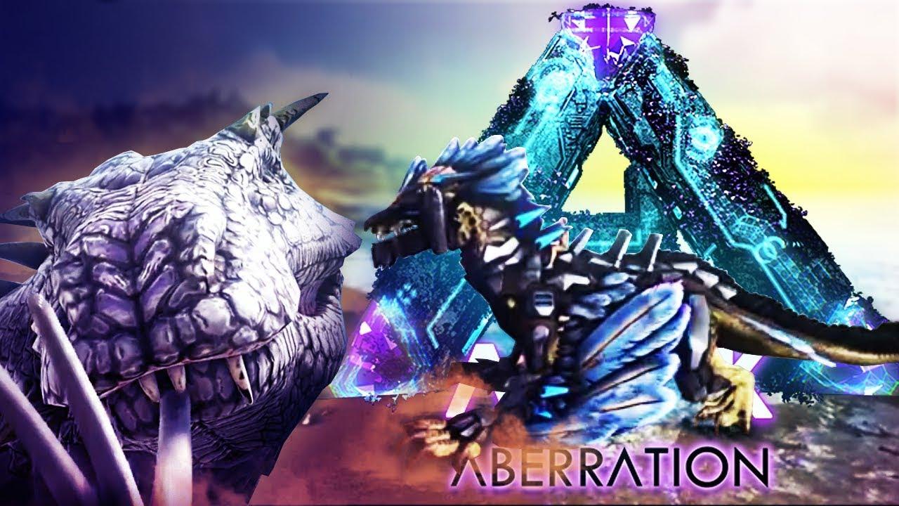 ARK Aberration - ROCK DRAKE & TEK SADDLE LEAKED GAMEPLAY! BASILISK ATTACKS  + FINAL BOSS!? - Gameplay