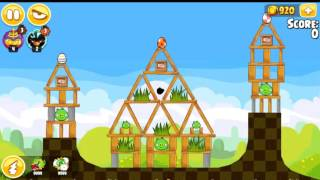 Angry Birds Seasons Easter Eggs All levels