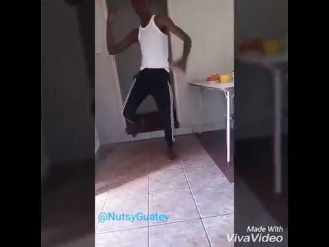 Nutsy Guatey dancing to NyataQuance