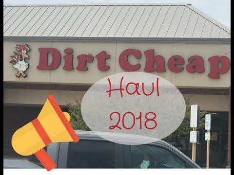 Fall Haul Dirt Cheap 2018