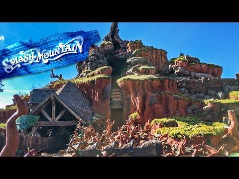Splash Mountain Testing With No Water | Magic Kingdom- Disney World