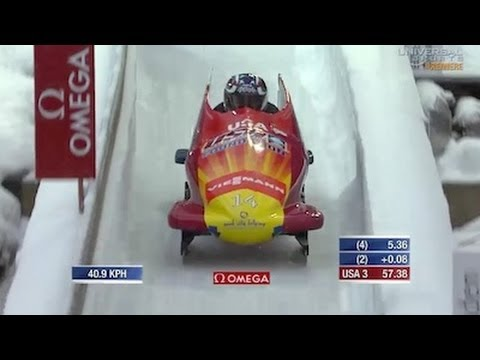 Lolo Jones 10th in Bobsled at Konigssee - Universal Sports