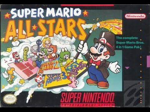Image result for Youtube Longplay Super Mario All-Stars