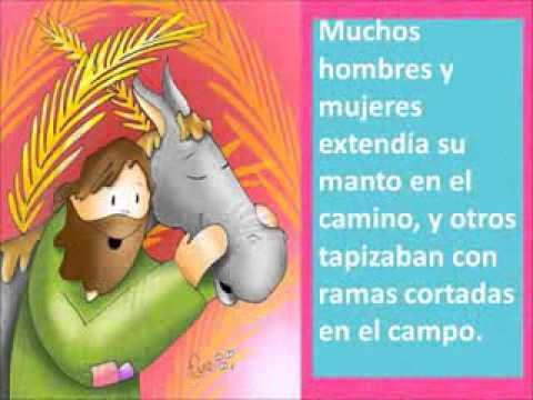 Lectura Y Reflexión Domingo De Ramos Ciclo B Para Niños