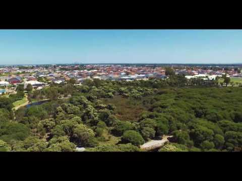 A PERTH SKYLINE - RESERVE - DJI PHANTOM 3