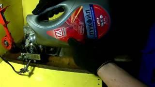 Какое масло залить в двигатель тест на трение  с нагревом (10w 40)