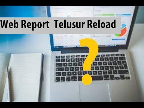 Cara Menggunakan Web Report Pulsa Telusur Reload