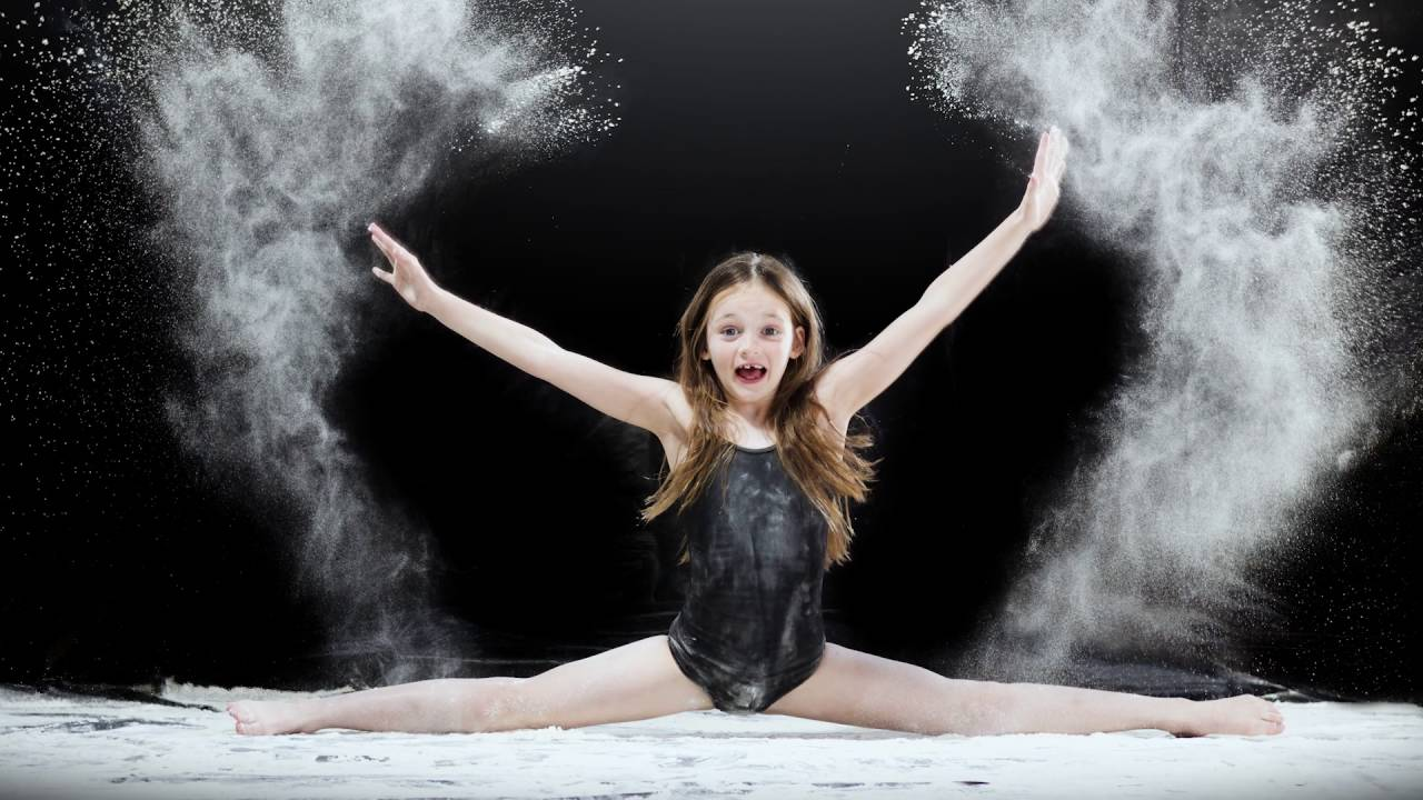 Powder Dance photography The making of powder art YouTube