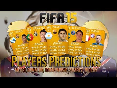FUT 15 PLAYERS PREDICTIONS feat. Messi, Ronaldo, Zlatan, Suarez & Ribery