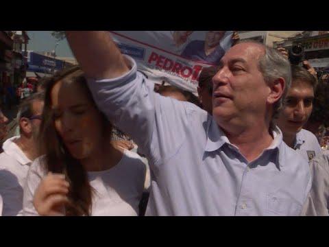"""Candidato brasileño Gomes es operado en próstata """"con éxito"""""""