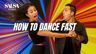 HOW TO DANCE TO FAST SALSA - IN SOCIAL DANCING - salsa music fast songs