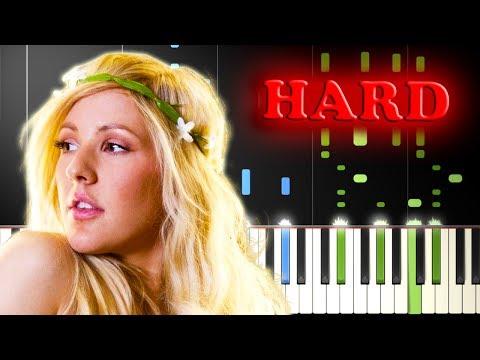 ELLIE GOULDING - BURN - Piano Tutorial